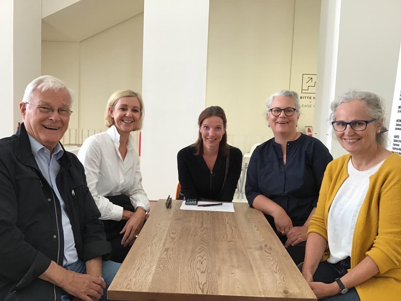 Excursion zum Kunstpalast in Düsseldorf mit dem Vorstand AK Museum (C:Herma Karg)