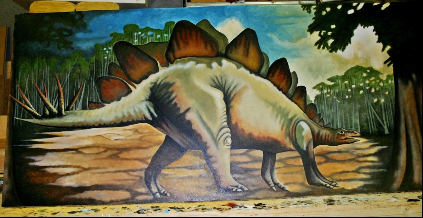 Der Stegosaurus