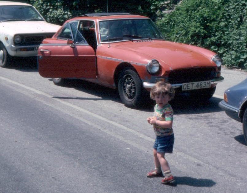 1973 MGB GT V8 , 1979