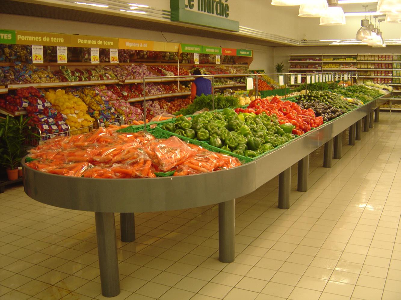 Bac fruits et légumes