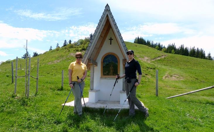 Gedenkkapelle auf dem Weg zur Loibersbacher Höhe
