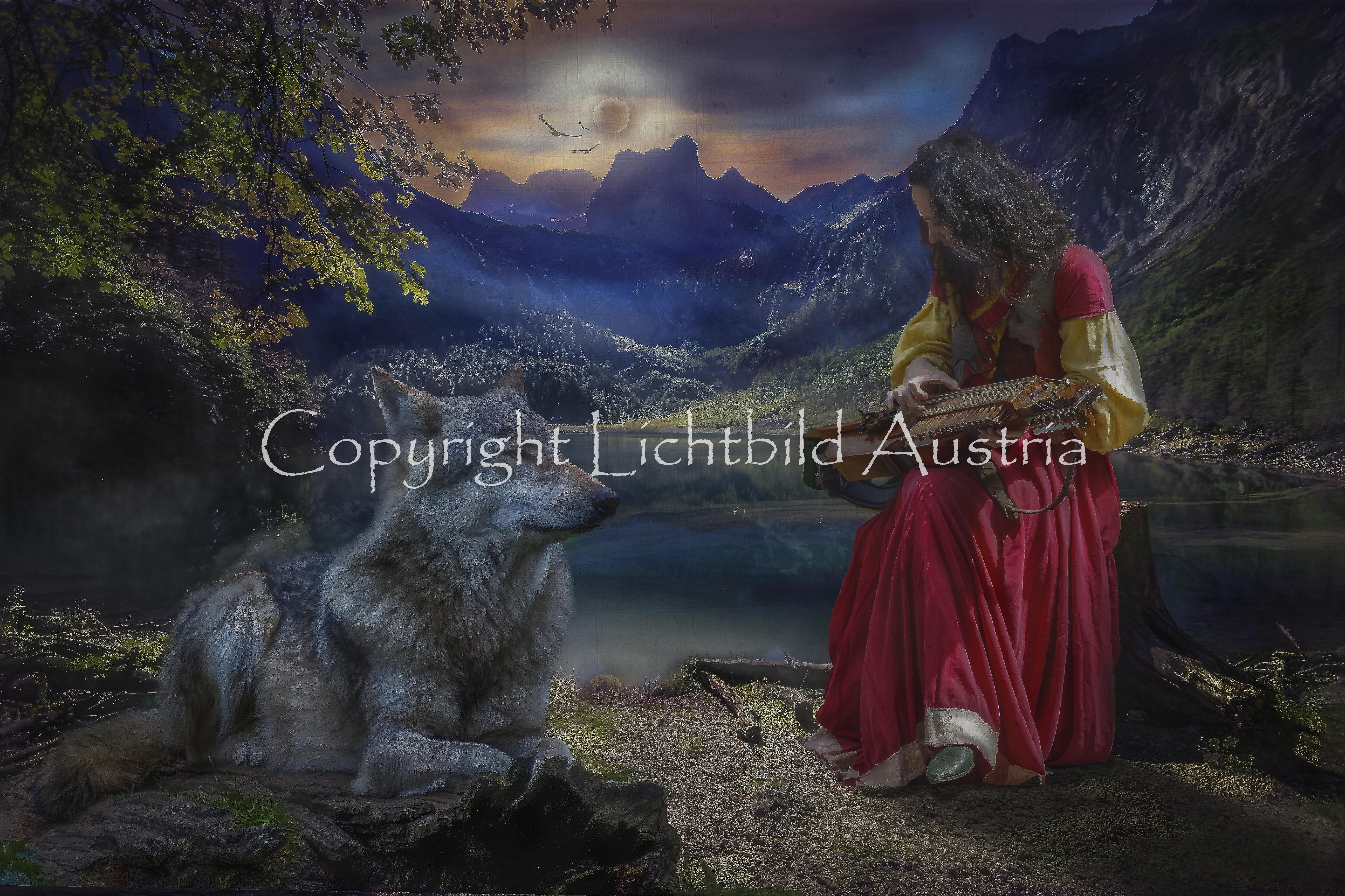 Der Wolf und das Mädchen