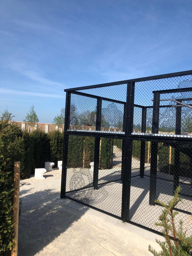 Aussichtspodest mit Lace Fence