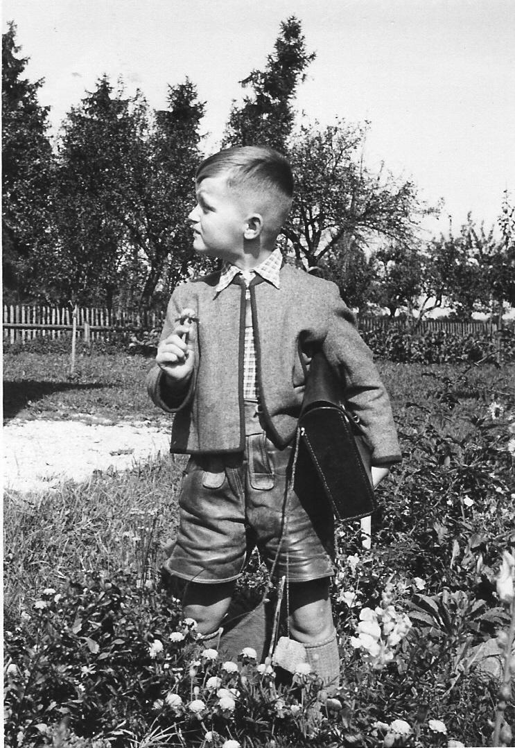 Erster Schultag - 1954