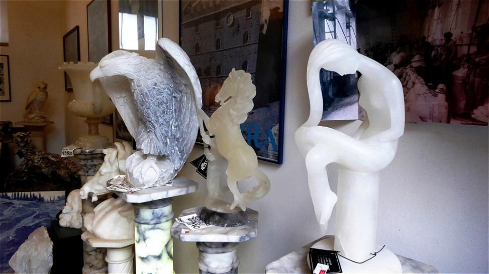 Alabasterskulpturen