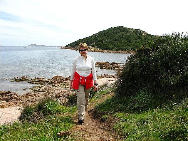 Wanderung entlang der Küste