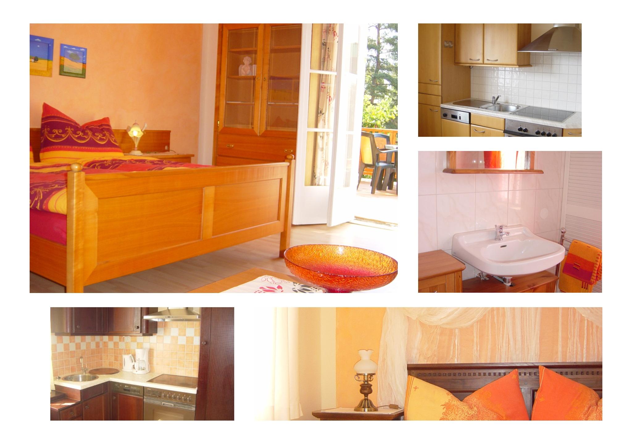 Apartments für 2+(2) Gäste