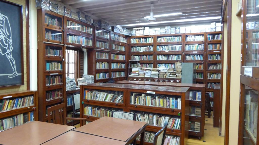 Die Bibliothek Ghandis