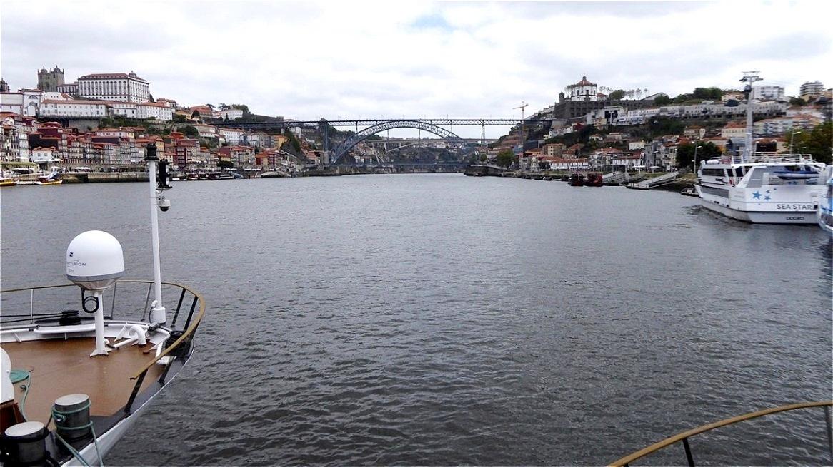 "Die Brücke ""Ponte Dom Luis i"""