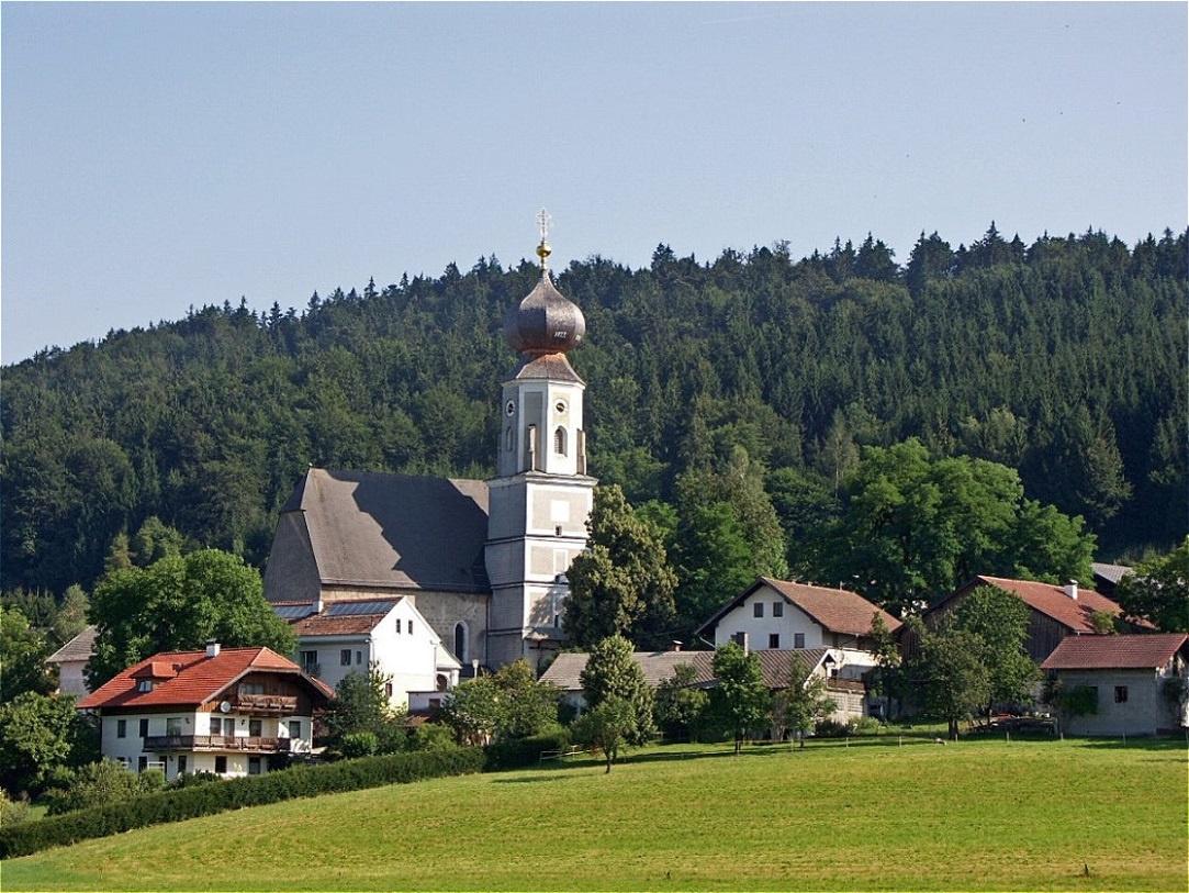 Heiligenstatt am Südwestrand des Kobernaußerwaldes