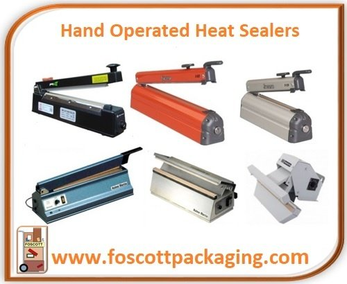 Foscott Packaging Home Page - Hand Operated Heat Sealers