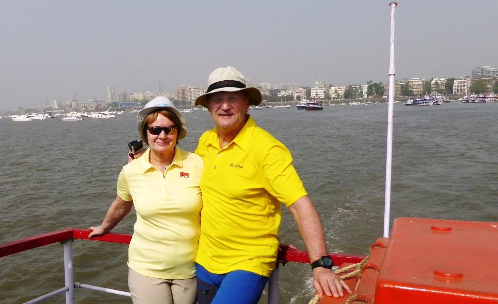 Ablegen von Mumbai - Überfahrt auf Elephanta Island