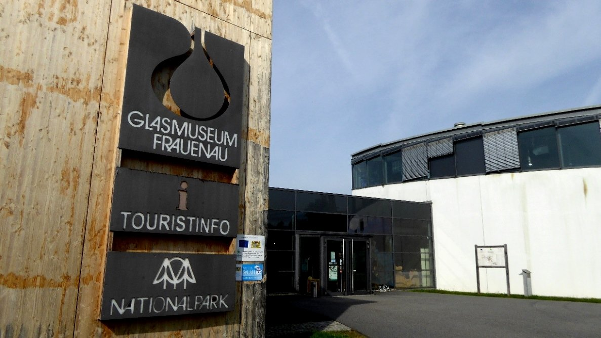 Im Nationalpark Bayerischer Wald - Glasmuseum Frauenau