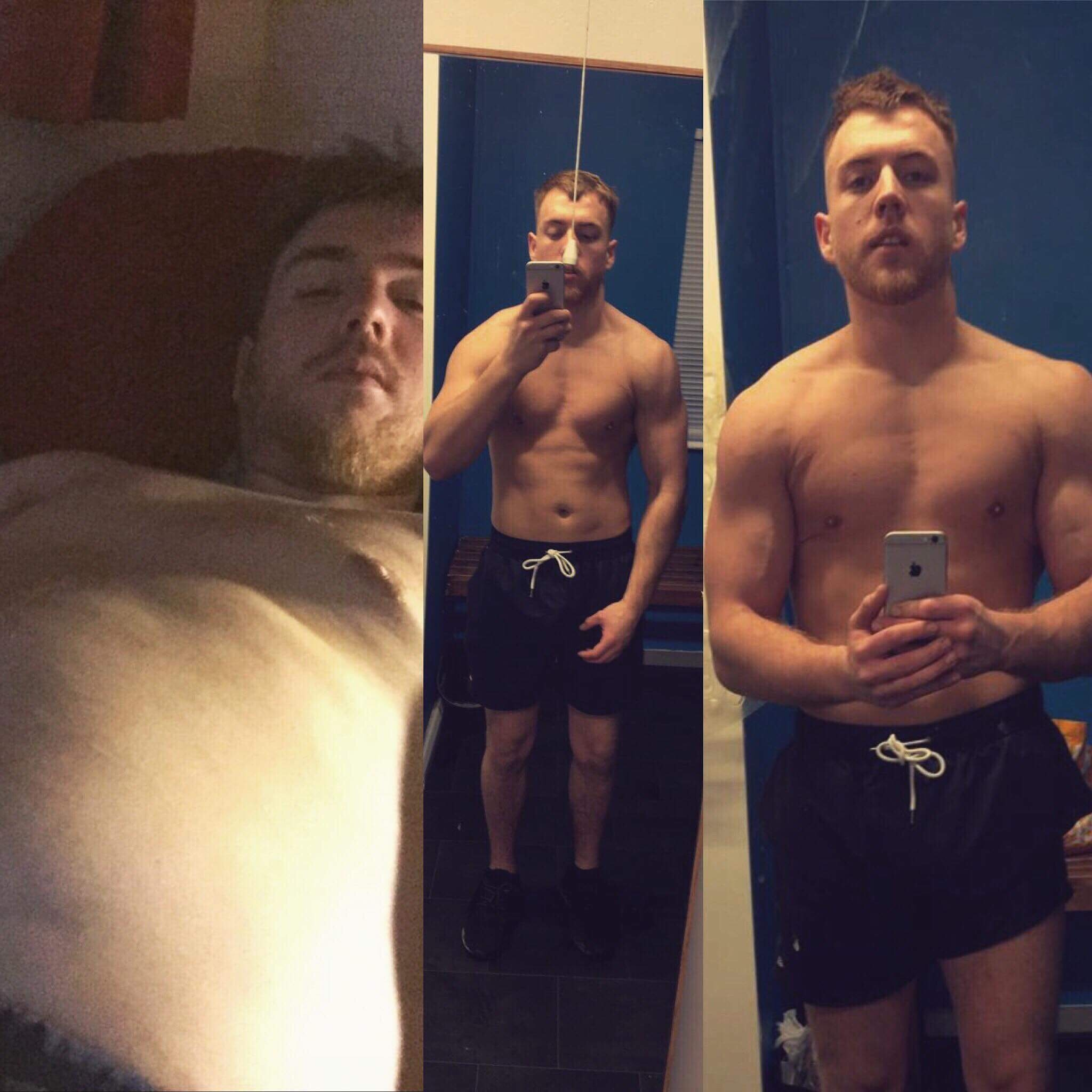 """I dropped 3 stone in 6 months at The Exercise Lounge. I have gone from doing nothing and eating rubbish to exercising 4 times a week and feeling much healthier!"" Danny Pill"