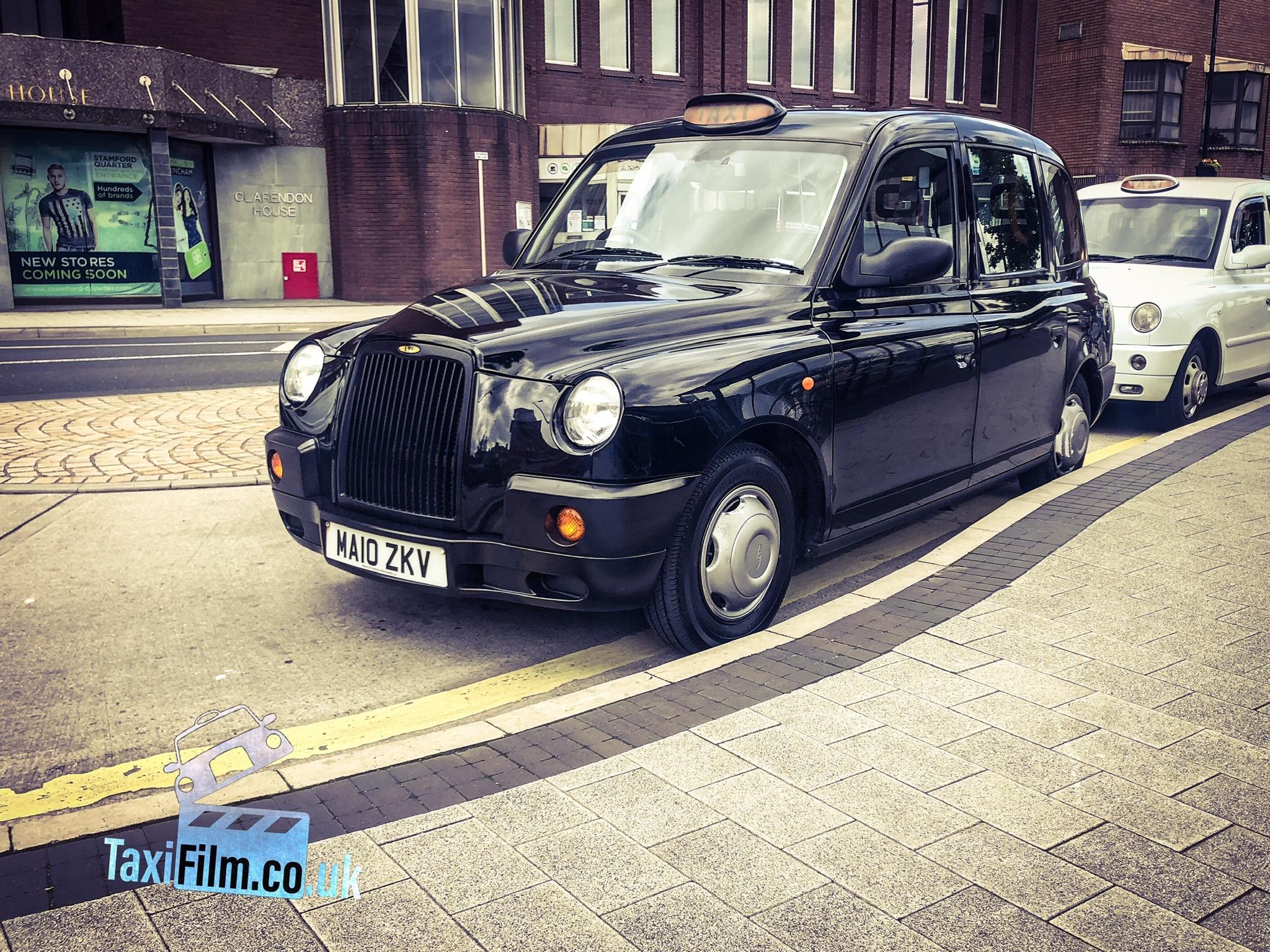 black tx4 prop car taxi
