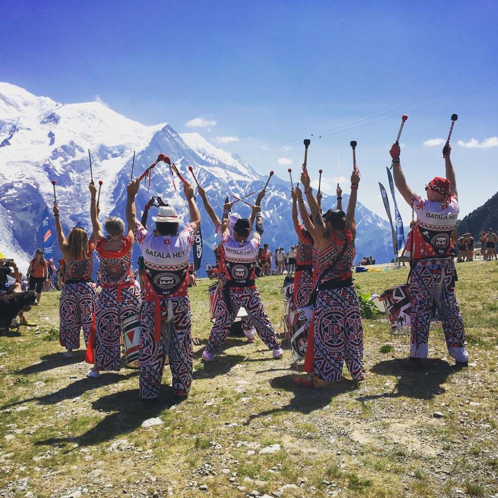 Batala Geneva au Trail des Crêtes du Chablais 2018