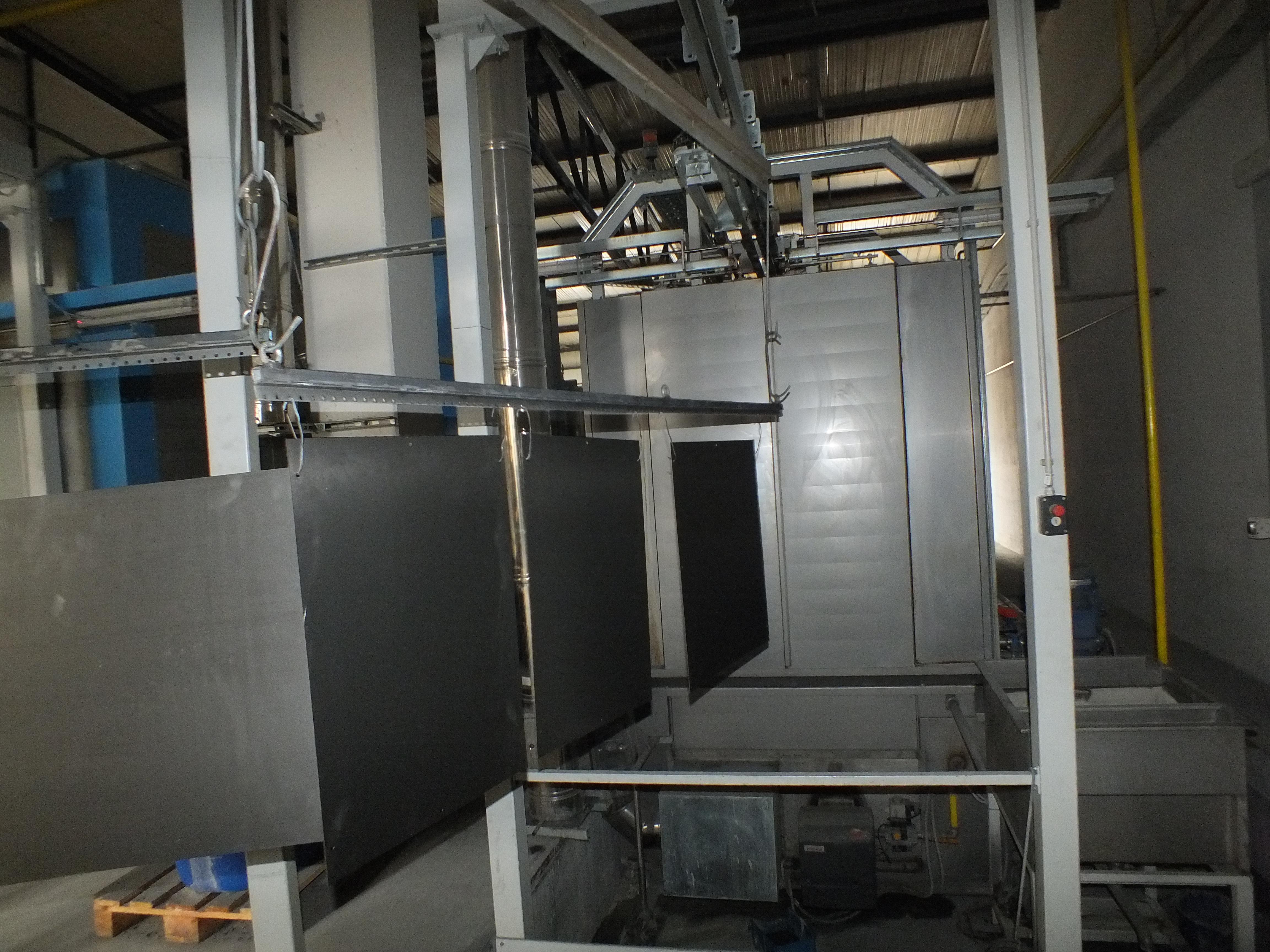 stroj za prašno lakiranje