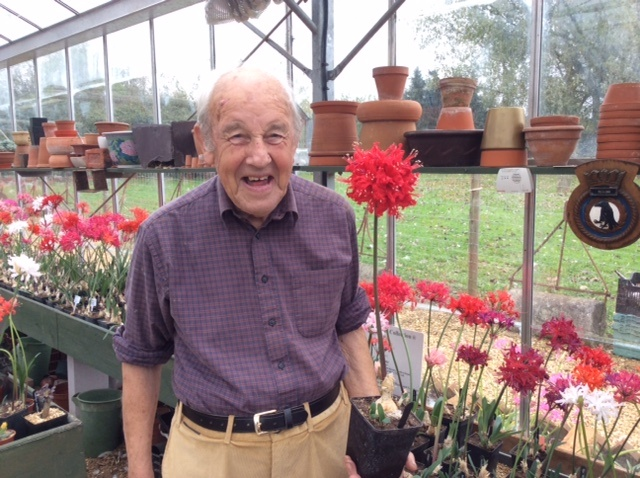 "Ken with the Nerine named after him, it's called ""Joe"" His first name is Joseph!!"