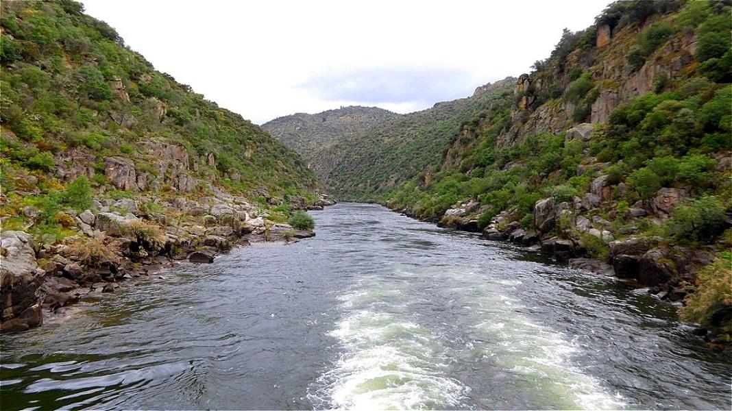 So ist heute der Douro auch im Oberlauf schiffbar