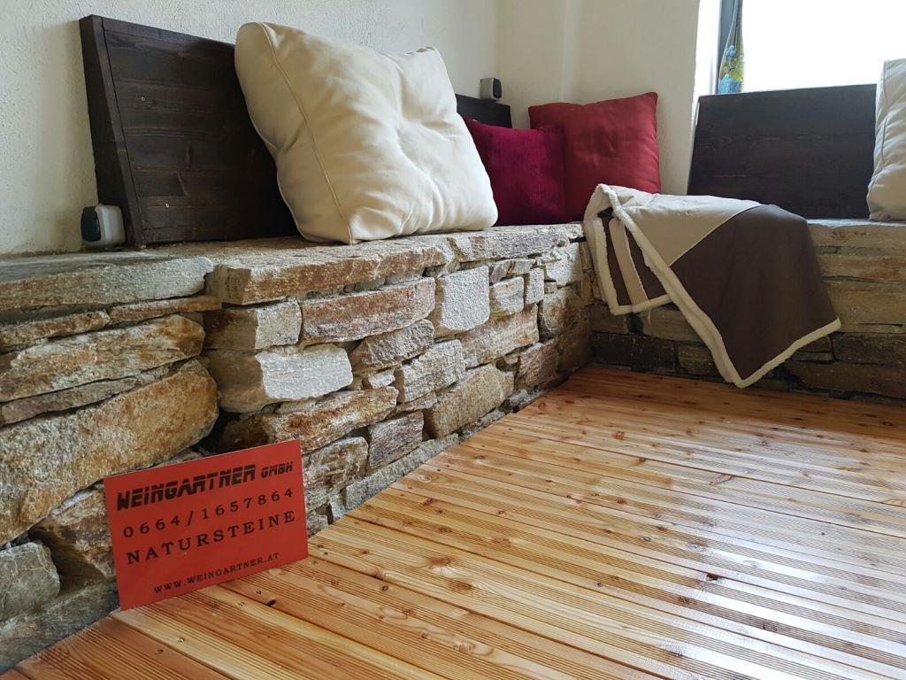 Trockenmauersteine, Mauersteine, Stufenplatten