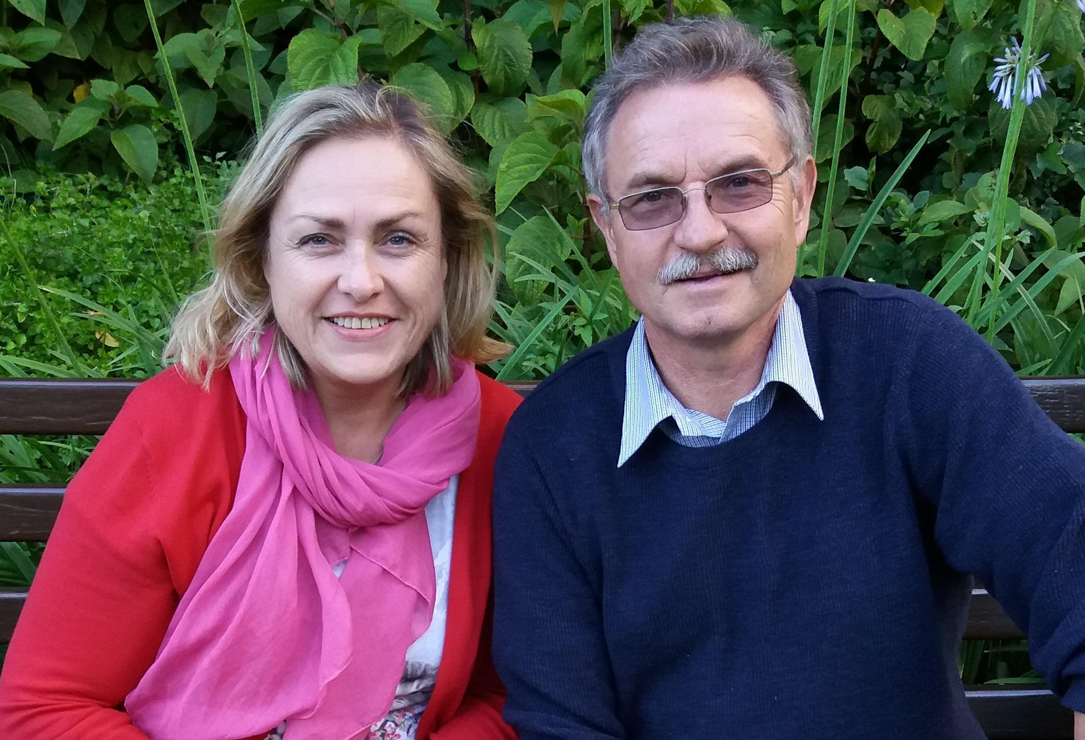 Maria und Karl Blaimschein