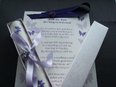 A4 butterfly scroll