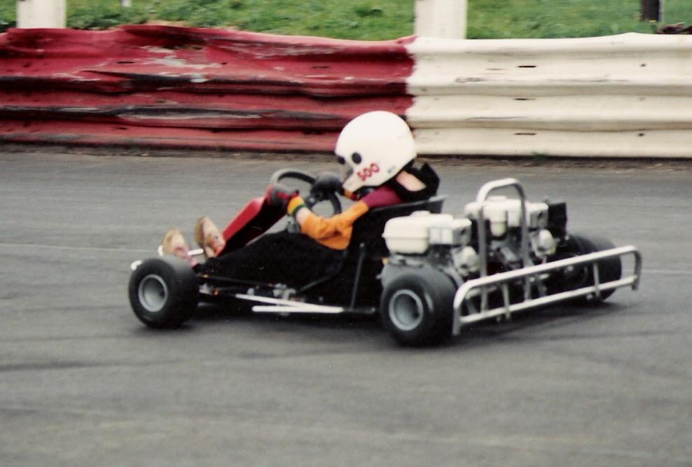James, twin-engined kart, Northampton