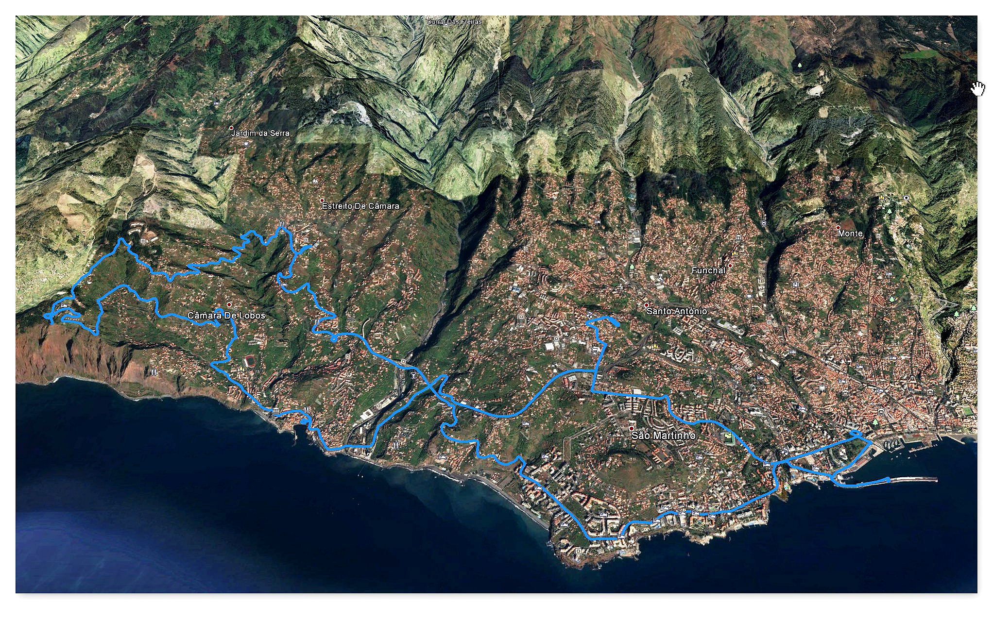 Camera de Lobos Cabo Girao