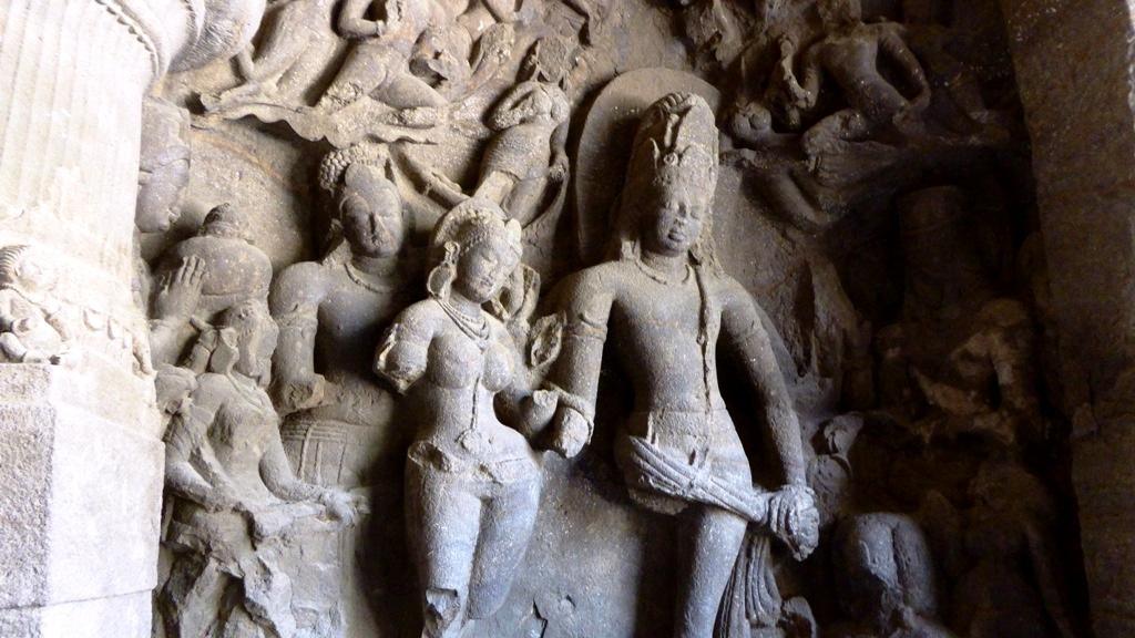 Hochzeit von Shiva und Parvati