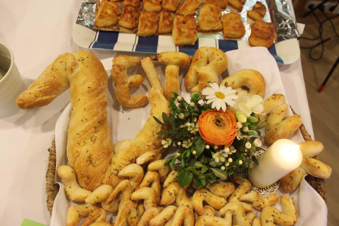 Essbares Gastgeschenk aus Eggelsberg.