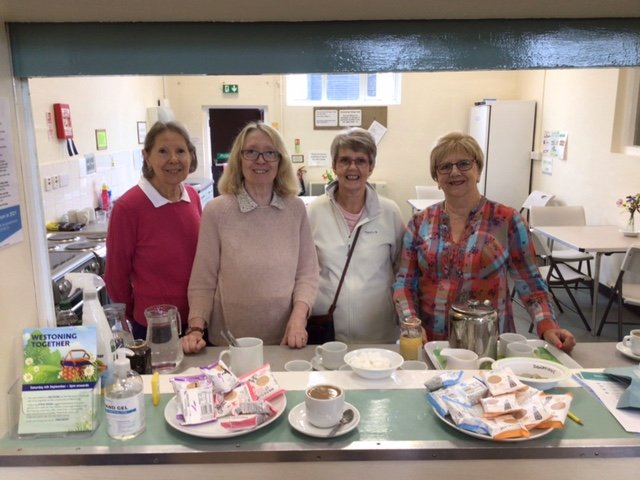 WI Ladies manned the kitchen and offered refreshments to all our visitors 04.09.21