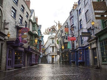 A Visit to Diagon Alley