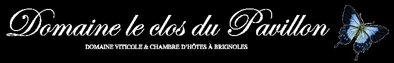 DOMAINE LE CLOS DU PAVILLON