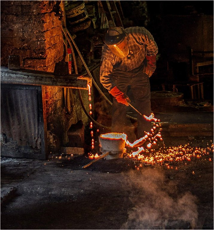 Highly Commended: Removing the Slag (Roger Paxton)