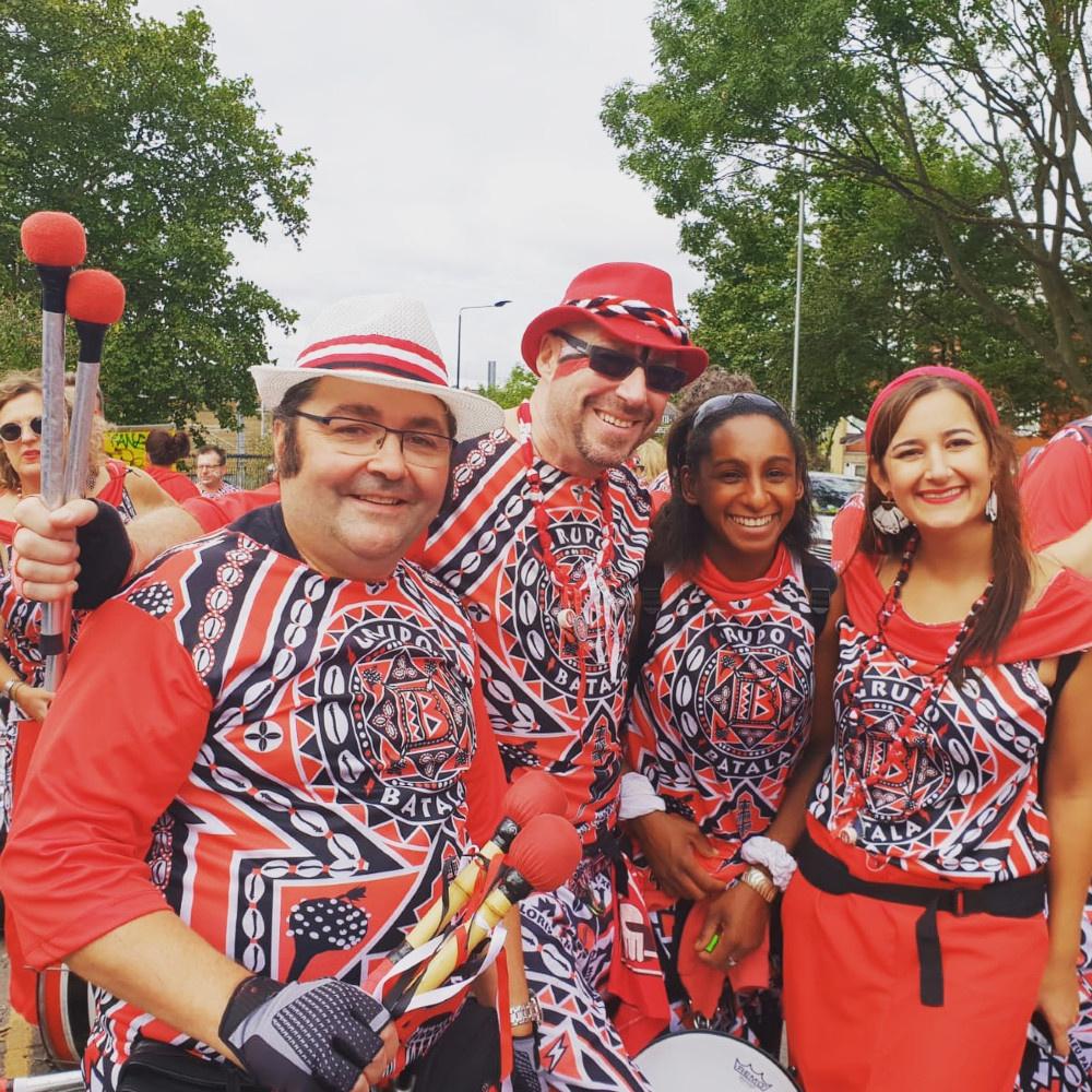 Batala Geneva à Notting Hill Carnival 2018