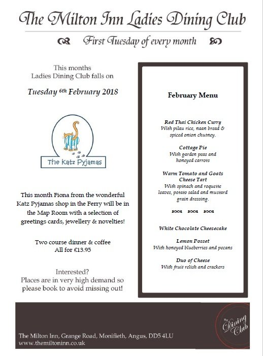 Ladies Dining Club Feb 2018