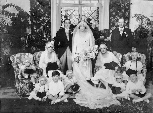 Wills family wedding 1925