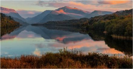Evening Sun over Llyn Padarn (John White)