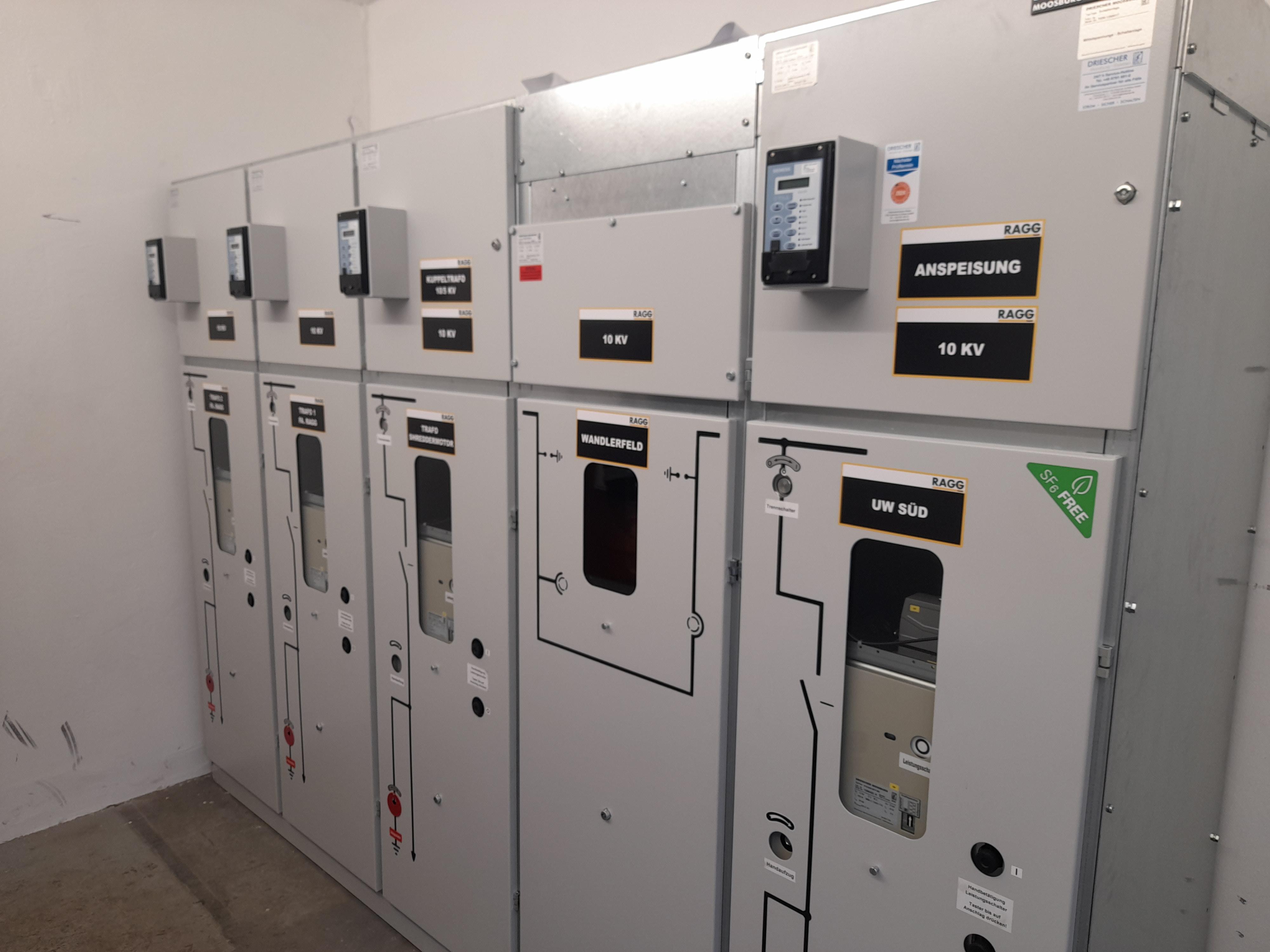 10kV Schaltanlage Neu Produktionsbetrieb