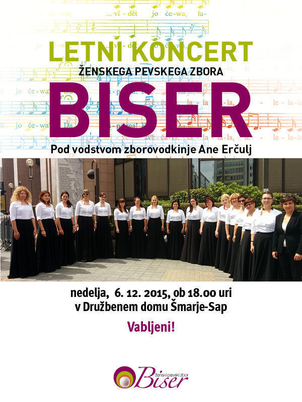 Koncert Ženskega pevskegai zbora Biser