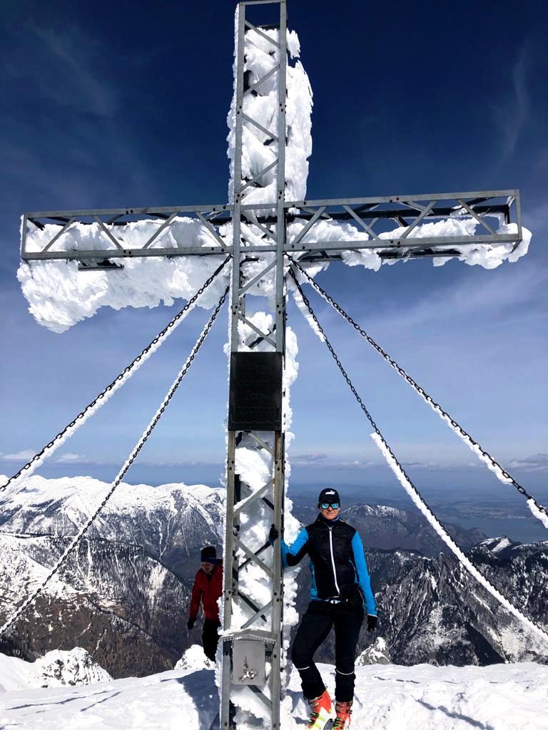 Auf dem Schönberggipfel   2.090 m