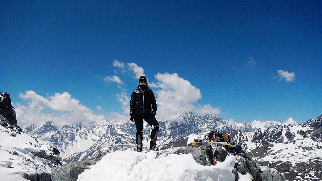 Cho-La-Pass - 5.420 m - Nepal April 2013