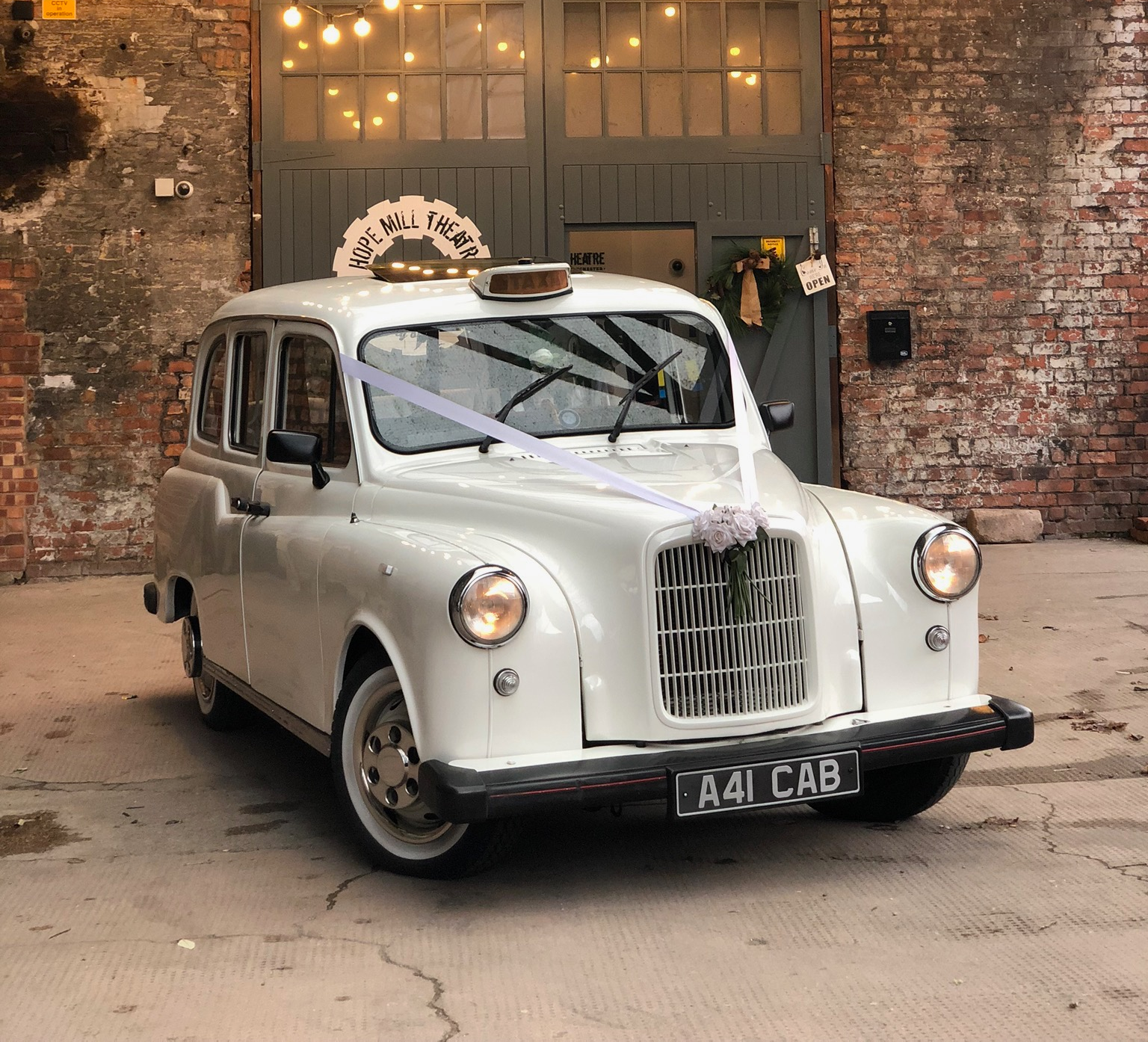Wedding cars taxis ancoats hope mill theatre