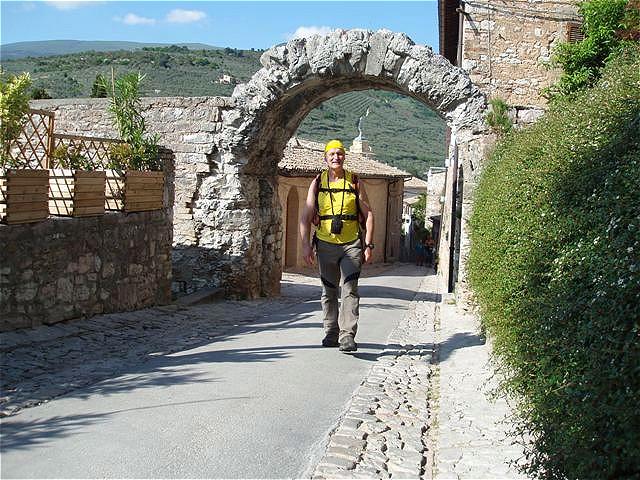 Porta dell Arce - römischer Torbogen am höchsten Punkt der Stadt