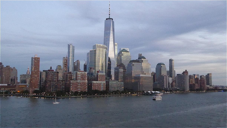 Der Financial District an der Südspitze von Lower Manhattan