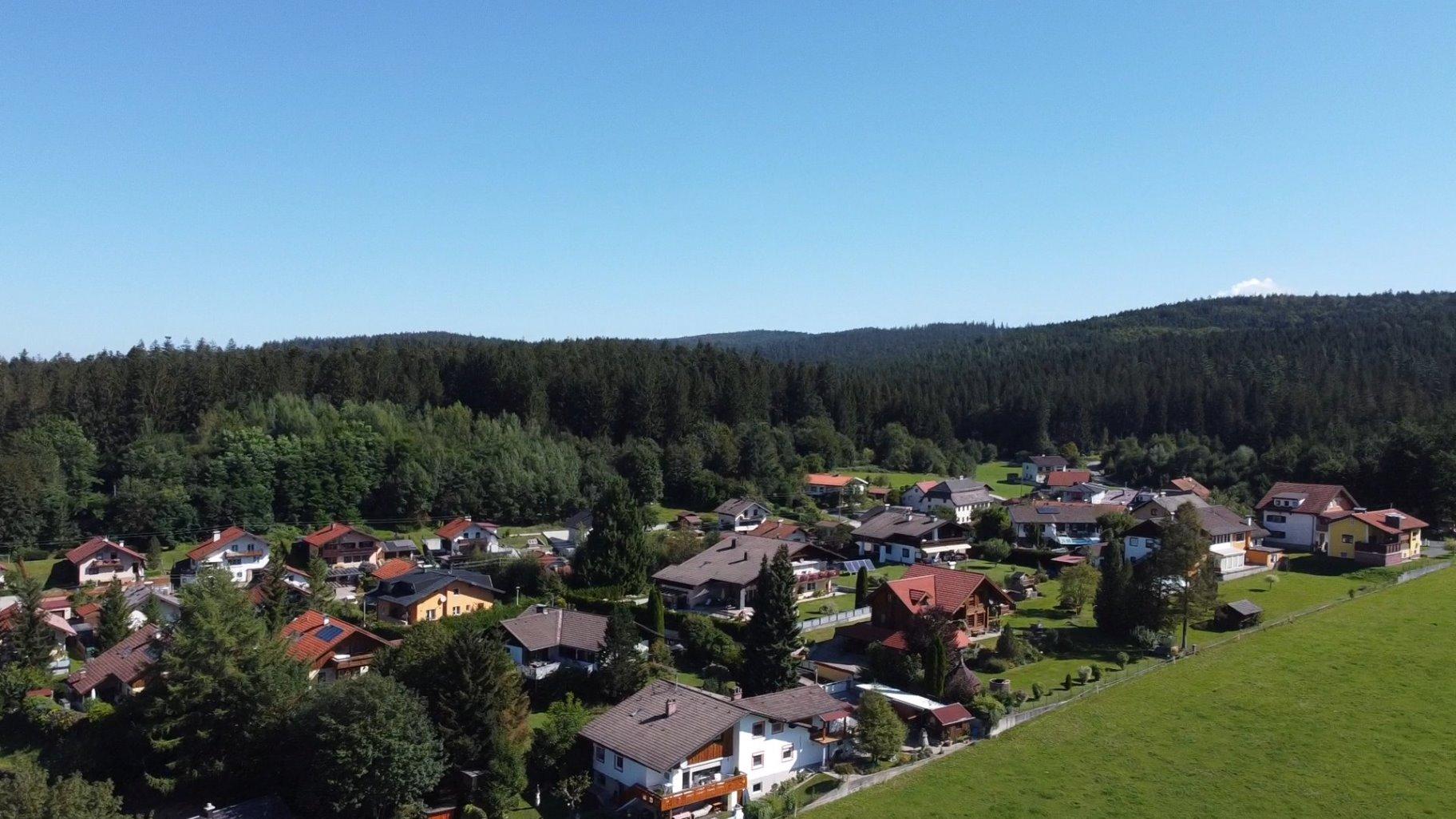 """Ortsteil """"Alte Hütte"""" - Standort der ersten Glashütte"""