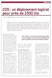 Interview de T. Fruchart (COS) Perspectives Sanitaires et Sociales Eté 2012