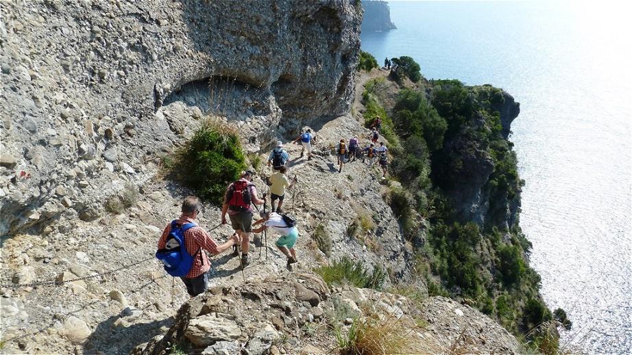 Klettersteigpassage