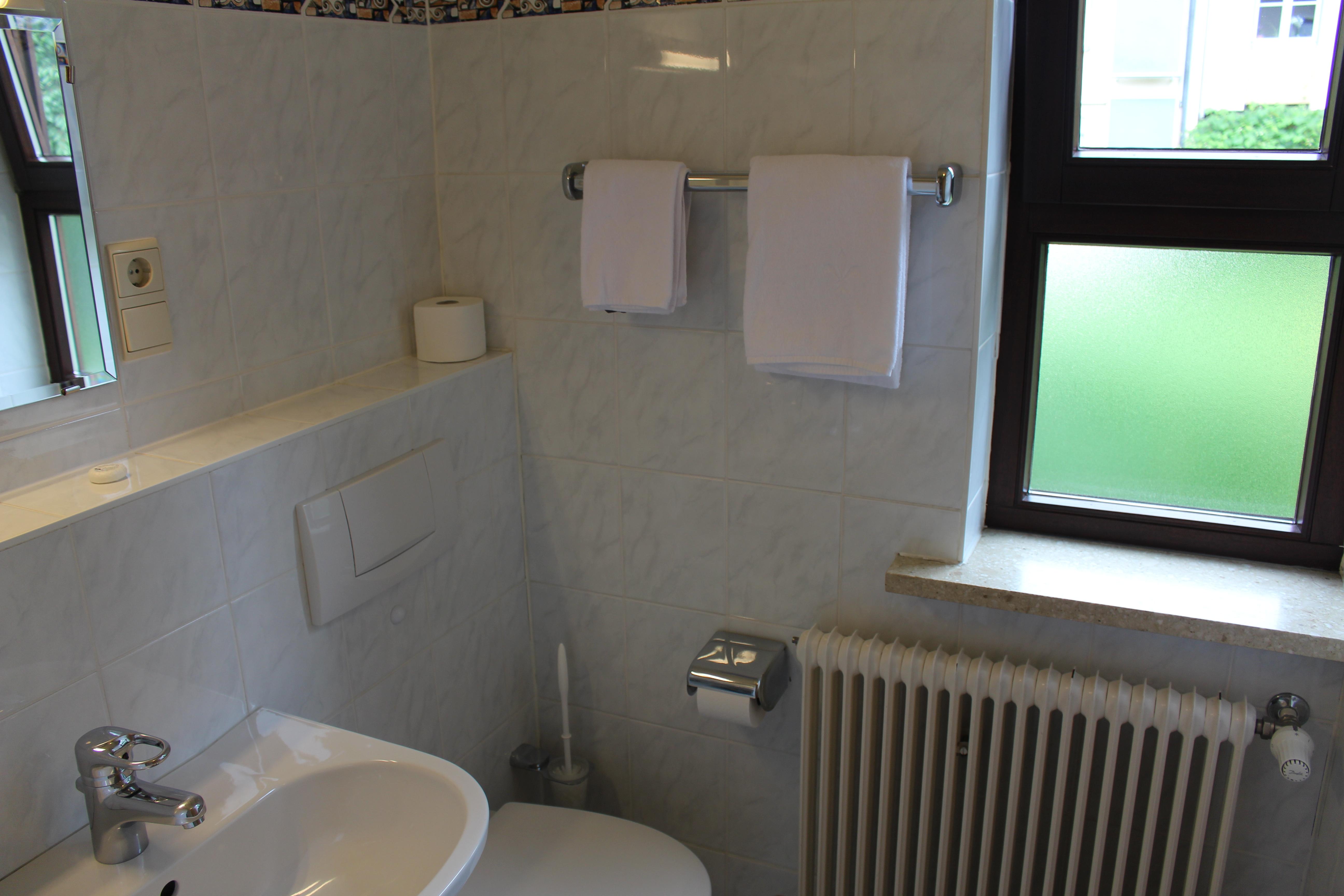 Zimmer Nr. 6 - Badezimmer
