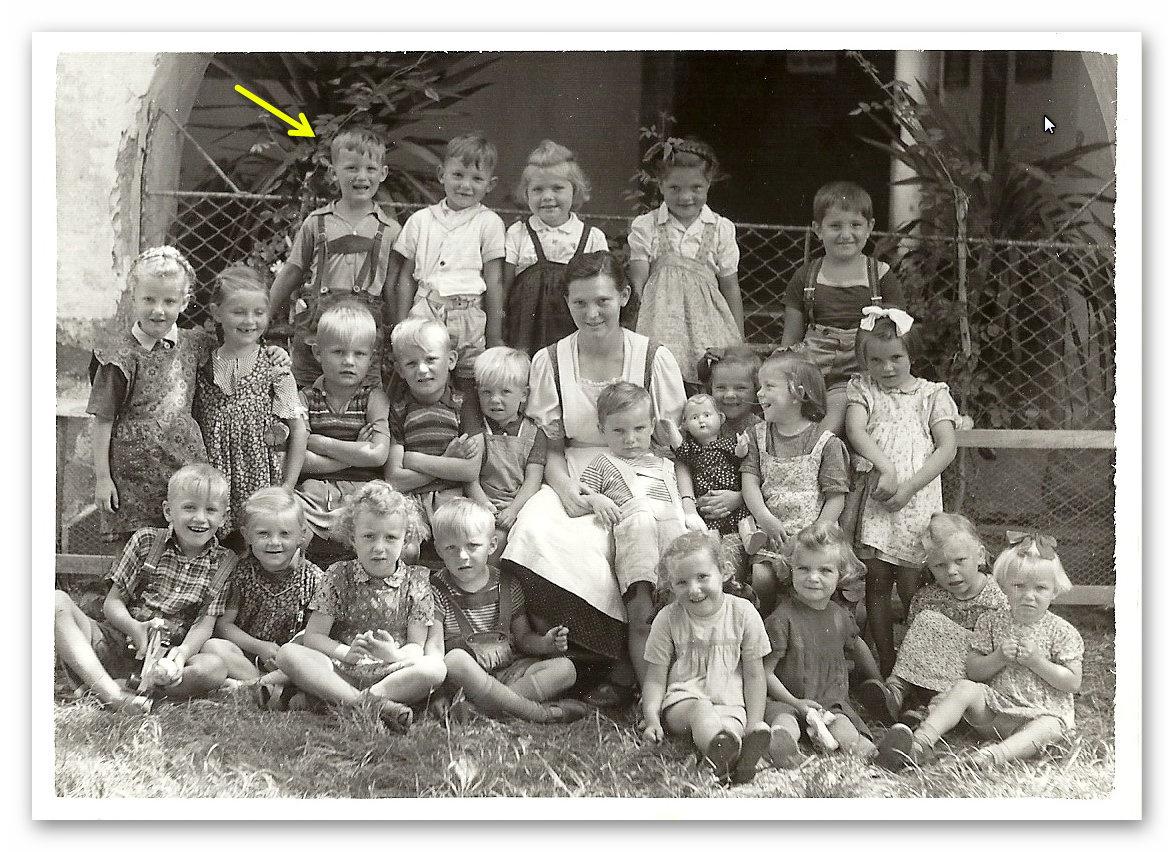 Kindergarten Pichl bei Wels - 1953